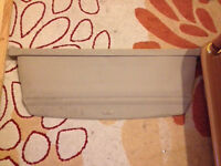 Audi a2 boot cover parcel shelf rolls out can post breaking spares