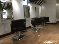 Hairdressing chair for rent/self employed stylist