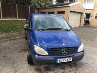 Blue Mercedes VITO 2005
