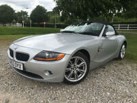 2003 BMW Z4 2.5 Roadster Petrol automatic convertible in Silver