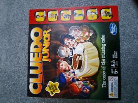 Cluedo junior board game