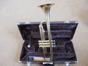 Yamaha Trumpet Case and Mouth Piece