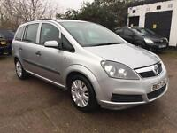 2007 Vauxhall Zafira Life 1.6 Petrol / LPG 11 Months Mot 7 Seater
