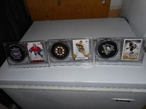 puck and card holders