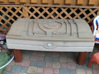 Little Tykes step 2 water table/sand box and turtle sand box