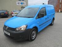 2011 Volkswagen Caddy Maxi 1.6TDI 102PS C20 diesel cd stereo 1 owner pas sldx 2