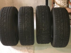 Snow tires Hancook 235/55/17