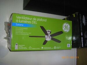 FANS INDOOR CEILING TABLE FLOOR NEW USED FLUORESCENT