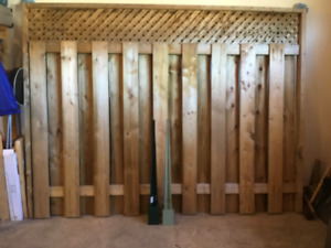 Privacy fence section for sale