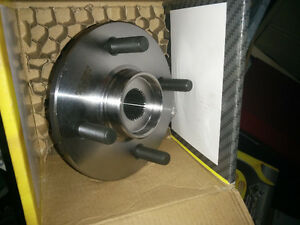 Four bolt wheel bearing and hub