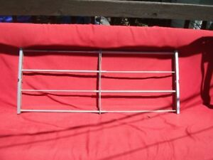 Security bar for basement window 16 3/4 by 24-40 inch wide