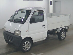 1999 Suzuki Carry 4x4 Hi Lo Range Fuel Injected Dump Box