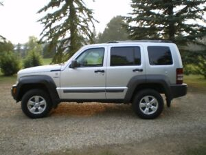2010 Jeep Liberty Renegade (flat tow)