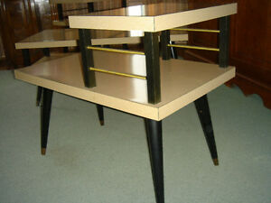 Vintage 50's 60's Arborite Coffee and End Tables London Ontario image 7