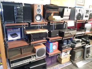 50% off Vintage Pieces and Electronics