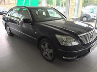 2004 Lexus LS 430 4.3 ( Lth S/Wheel ) auto 6sp FINANCE PART EXCHANGE WELCOME