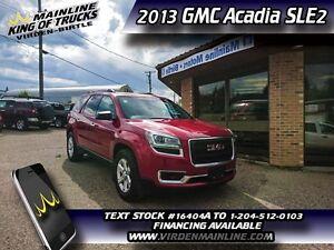 2013 GMC Acadia SLE2  -  IntelliLink - $210.02 B/W