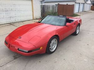 1991 Chevrolet Corvette Convertible C4 6 speed  $13500