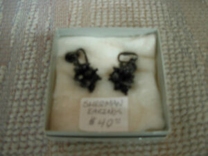 Black Sherman Earings Cambridge Kitchener Area image 1
