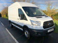 2015 15 FORD TRANSIT 350 L3 H3 2.2TDCI 125BHP 1 OWNER ANY UK DELIVERY