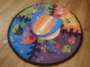 Lamaze Spin and Explore the Sea playmat