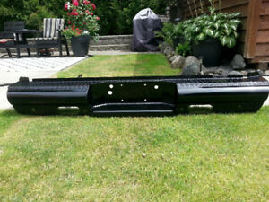 Black Steel Cowboy Rear Bumper