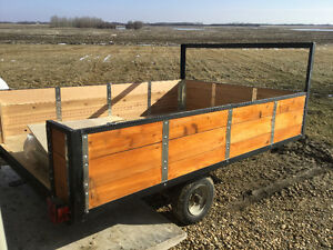 Totally renovated utility trailer