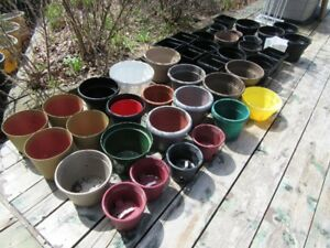 PLANT POTS - SMALL SIZES - REDUCED!!!!