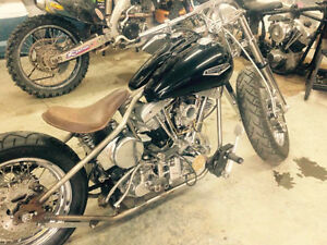 shovelheads and misc aftermarket parts trade or cash