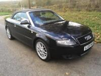 Audi A4 Cabriolet 1.8T Sport LONG MOT + LOW MILEAGE + JUST BEEN SERVICED