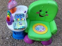 Childs play/learning chair