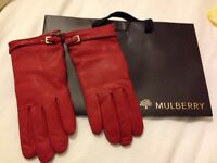 Mulberry Buckle Strap Glove Nappa