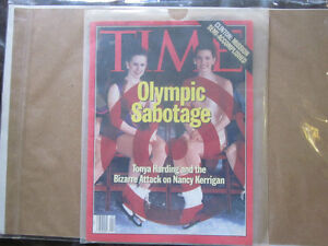 Collectible Time Magazine, Olympic Sabotage