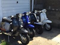 Lambrettas Vespa wanted for a collector