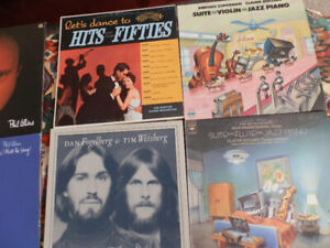 Excellent quality of LP jazz, country, classic and pop music!