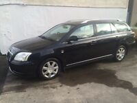 Toyota avensis 2.0 d4d estate, full years mot