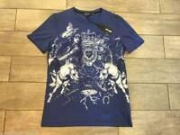 JUST CAVALLI Mens T-Shirt Short Sleeve New