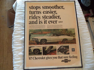 OLD CHEVY CLASSIC CAR ADS Windsor Region Ontario image 3