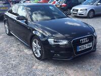 Audi A4 S line unrecorded Tfsi Auto Fully loaded