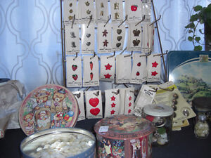 OUTDOOR SALE 1350 LANGMUIR AVE  VTG. BUTTONS,- 4TH UPDATE