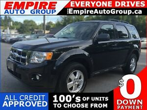 2011 FORD ESCAPE XLT * LEATHER * LOW KM * MINT CONDITION London Ontario image 1