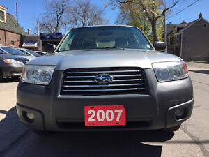2007 Subaru Forester X SUV, ***NO ACCIDENT***ONE OWNER***