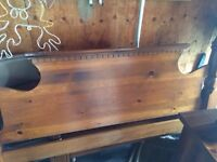 7 piece Canadian made pine bed room set.