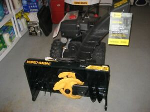 Yardman snow thrower