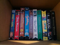 16 VHS TAPES MOVIE'S