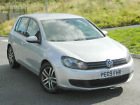 2009 (09) VOLKSWAGEN GOLF 2.0TDI CR ( 140ps ) SE 5DR GREAT VALUE AND PERFORMANCE