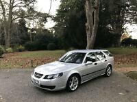 2006/56 Saab 9-5 1.9 TiD Linear Sport Turbo Diesel 5 Door Estate Silver