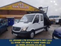2015 15 MERCEDES-BENZ SPRINTER C/CAB TIPPER 2015/15 BIGGER 316 163 ENGINE