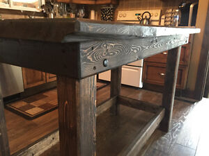 hand crafted softwood tables Stratford Kitchener Area image 3