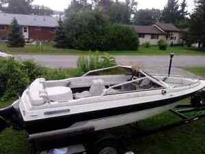 140 hp 3.0l 1989 cutter 16' bowrider.  Kawartha Lakes Peterborough Area image 2